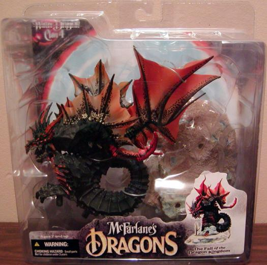 Water Dragon Clan 4 McFarlanes Dragons Quest Lost King action figure