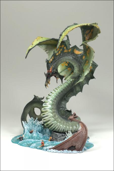 Water Dragon Clan 5 McFarlanes Dragons Quest Lost King action figure