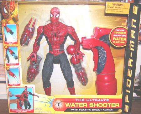 Water Shooter Spider-Man 2 Movie action figure