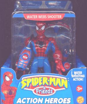 Water Webs Shooter Spider-Man Friends Super Heroes action figure