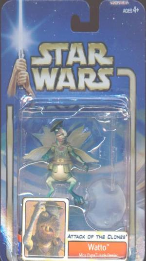 Watto Mos Espa Junk Dealer Star Wars Attack Clones action figure