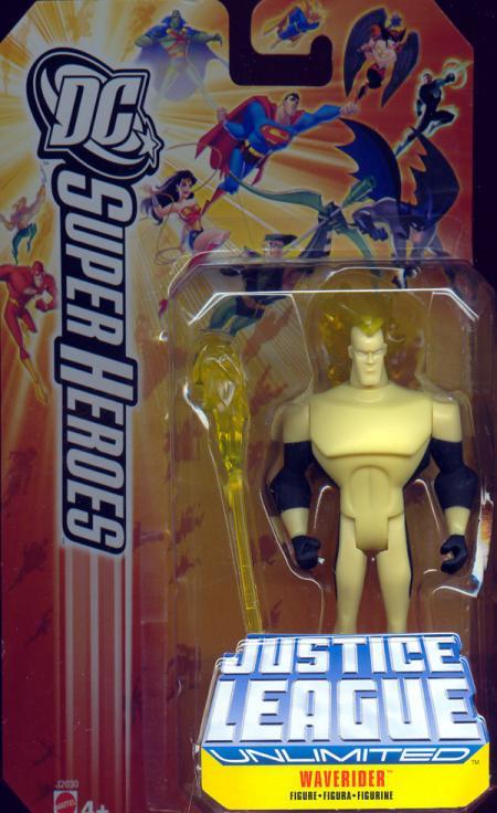 Waverider Figure DC SuperHeroes Justice League Unlimited