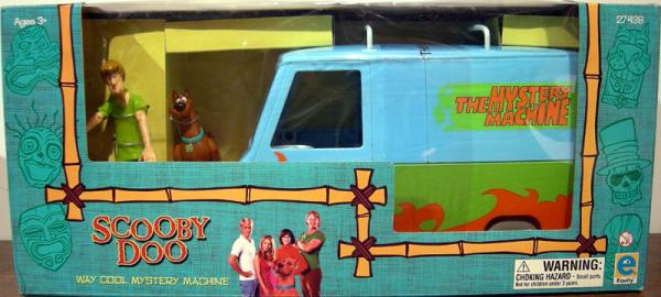 Way Cool Mystery Machine Vehicle Scooby-Doo Equity