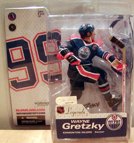Wayne Gretzky Figure 4 Legends 2 SportsPicks McFarlane