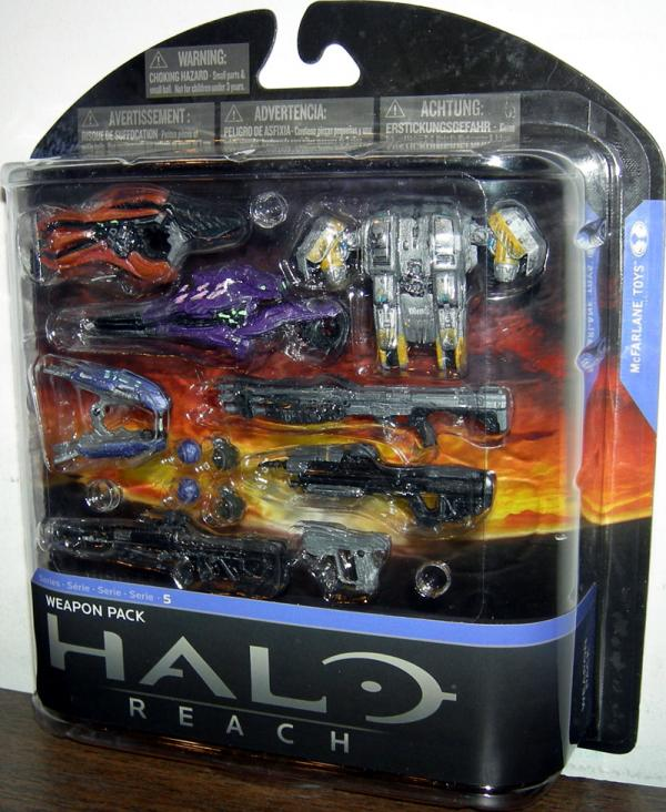 Weapon Pack Series 5 Halo Reach accessory