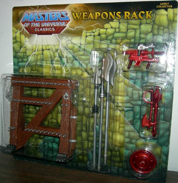 Weapons Rack Masters Universe Classics accessory