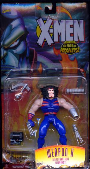 Weapon X After Xavier Age Apocalypse X-Men action figure