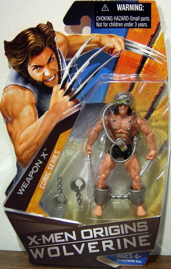 Weapon X Action Figure X-Men Origins Wolverine Comic Series