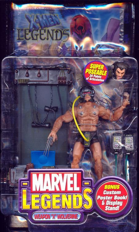 Weapon X Wolverine Marvel Legends action figure