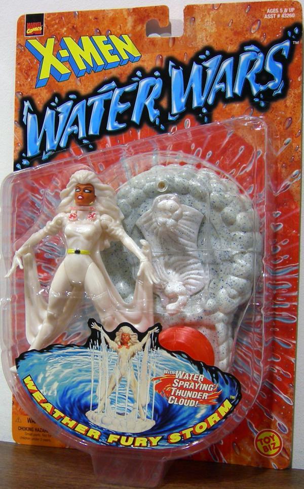 Weather Fury Storm Figure X-Men Water Wars Toy Biz