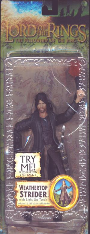 Weathertop Strider Trilogy Lord Rings Fellowship Ring action figure