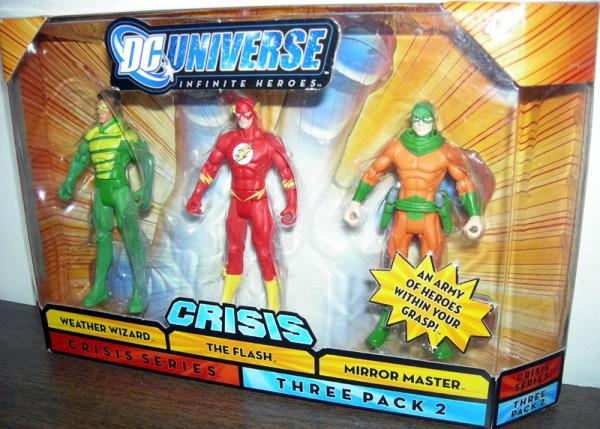 Weather Wizard Flash Mirror Master Crisis Series 2 action figures