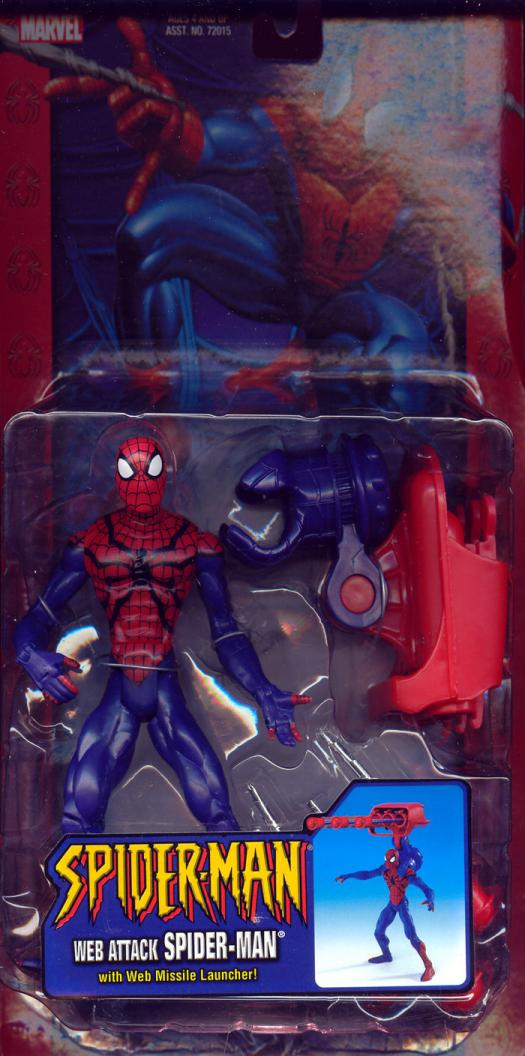 Web Attack Spider-Man Action Figure Classic Missile Launcher