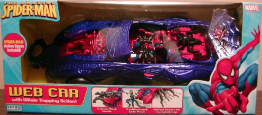Web Car Amazing Spider-Man Villain Trapping Action figure vehicle
