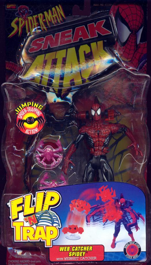 Web Catcher Spidey Black Spider-Man Sneak Attack action figure