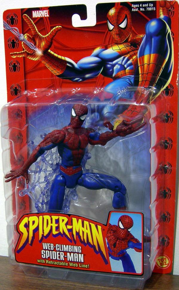 Web-Climbing Spider-Man Classic Retractable Web Line action figure