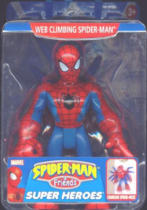Web Climbing Spider-Man Friends Crawling Spider-Pack figure