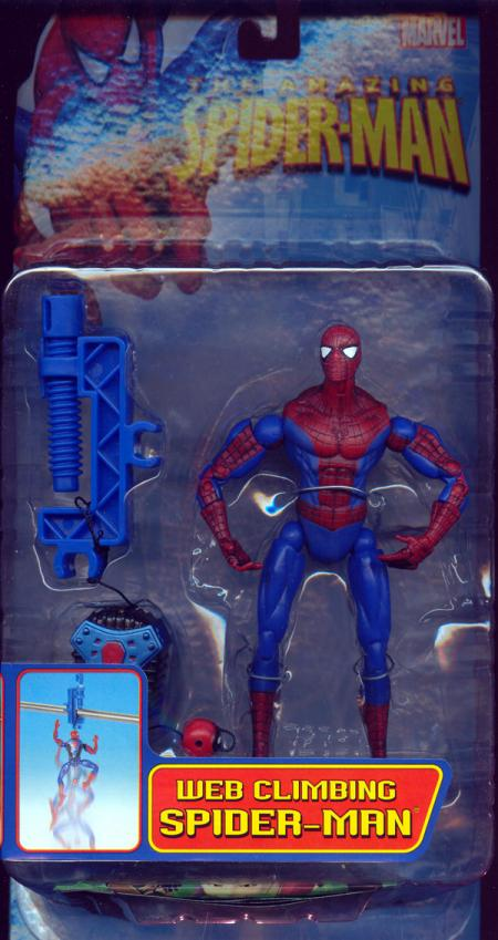 Web Climbing Spider-Man Amazing action figure