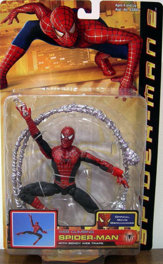 Web Climbing Spider-Man 2 Movie action figure