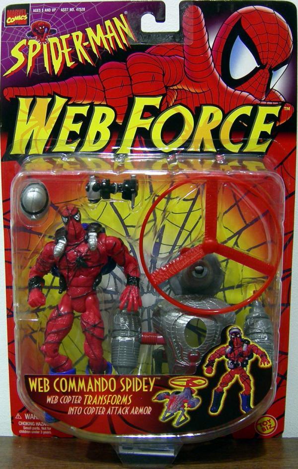 Web Commando Spidey Force Spider-Man action figure