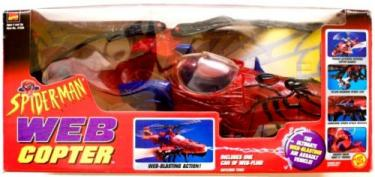 Web Copter 1998 Spider-Man vehicle