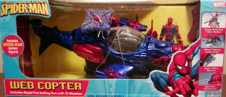 Web Copter Amazing Spider-Man action figure vehicle