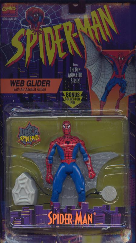 Web Glider Spider-Man Animated Series Air Assault Action figure