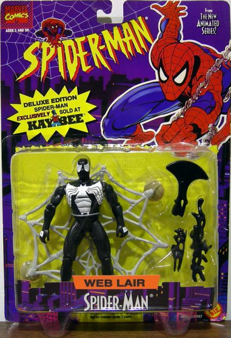 Web Lair Spider-Man Animated Series Kay Bee Exclusive action figure