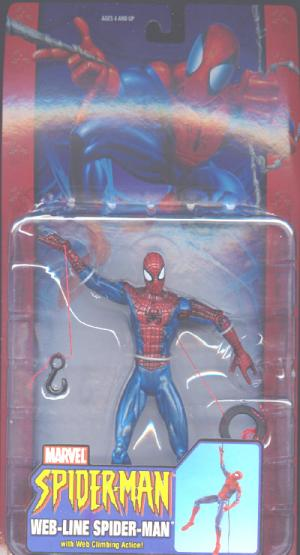 Web-Line Spider-Man Classic Web Climbing Action figure
