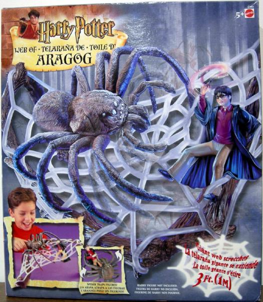 Web Aragog Playset Harry Potter Mattel