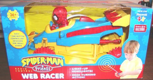 Spider-Man Radio Control Web Racer