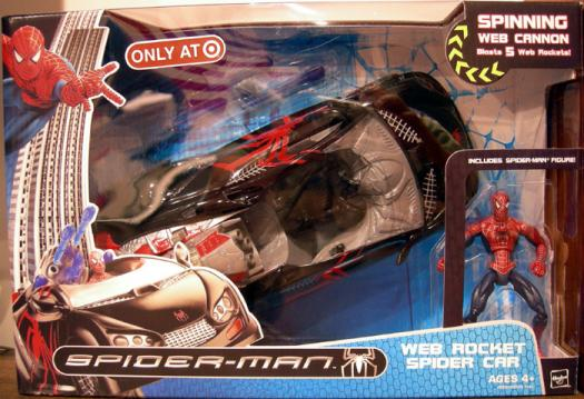 Web Rocket Spider Car Spider-Man Target Exclusive figure vehicle