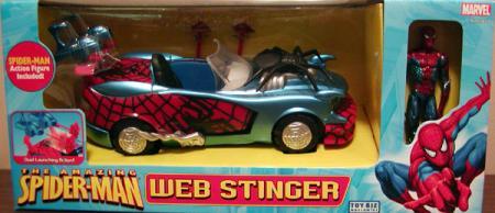 Web Stinger Amazing Spider-Man action figure vehicle