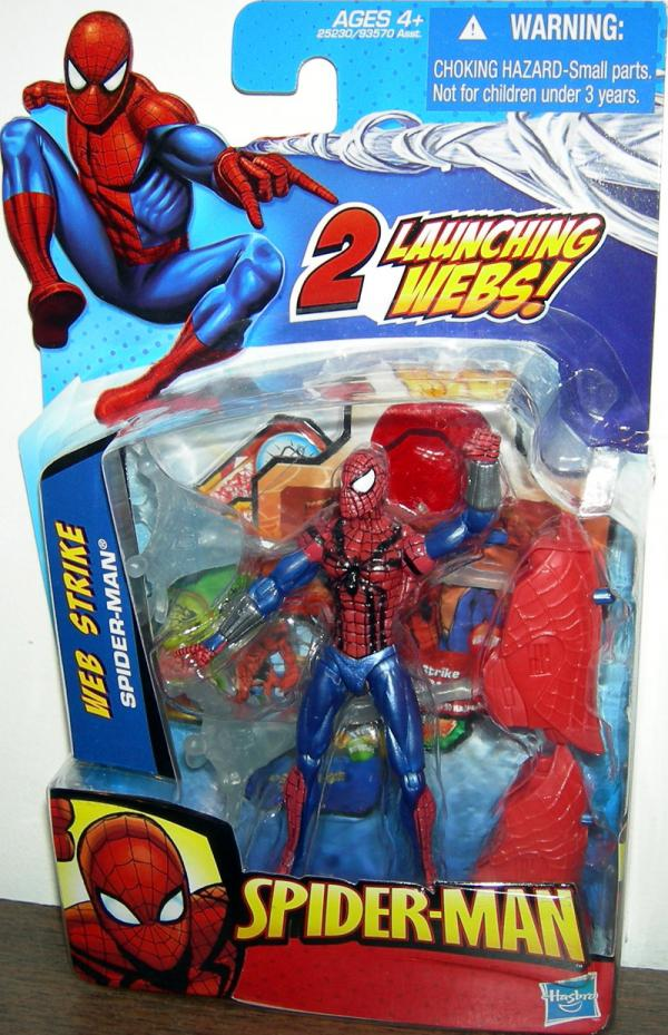 Web Strike 2010 Spider-Man 2 Launching Webs action figure