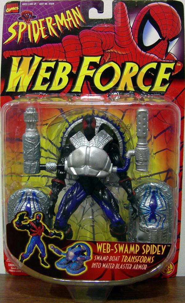 Web-Swamp Spidey Web Force Spider-Man action figure
