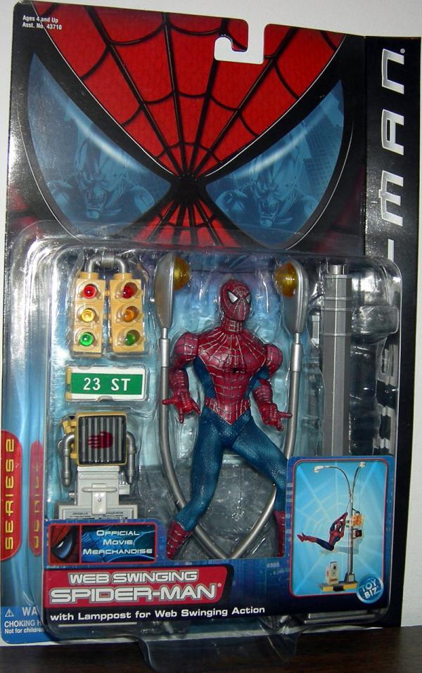 Web Swinging Spider-Man Movie Action Figure Toy Biz