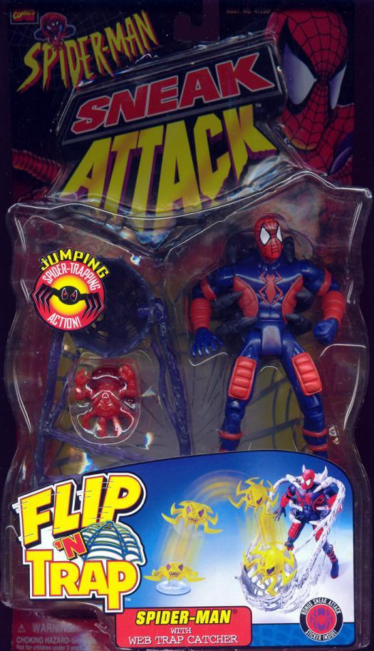 Spider-Man Web Trap Catcher Sneak Attack action figure
