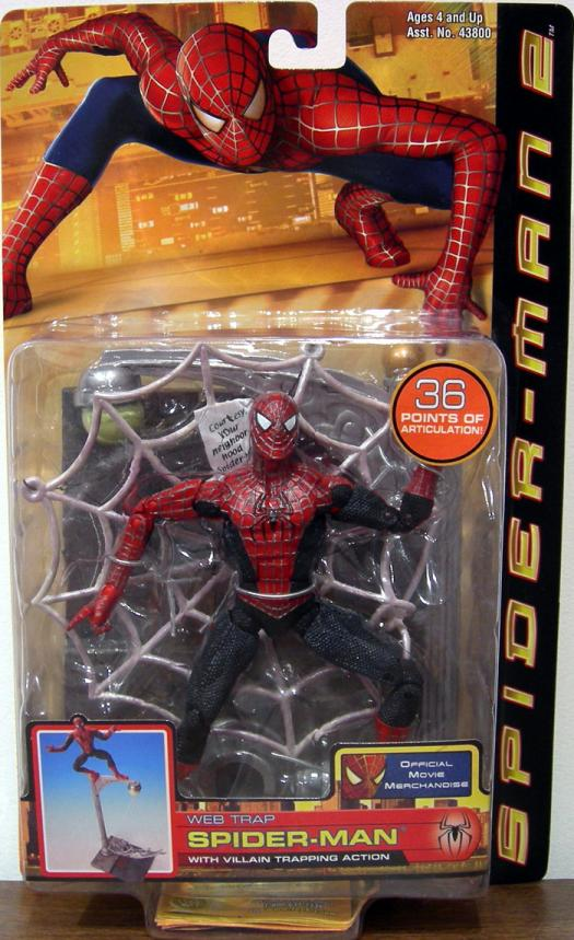 Web Trap Spider-Man 2 Movie Villain Trapping Action figure
