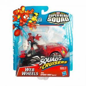 Web Wheels Super Hero Squad Cruisers action figure vehicle