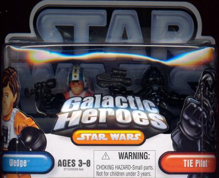 Wedge TIE Pilot Galactic Heroes Star Wars action figures
