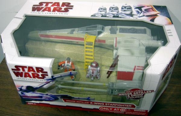 Wedge Antilles X-wing Starfighter Star Wars Legacy Collection vehicle