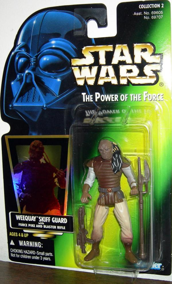 Weequay Skiff Guard Green Card Collection 2 Star Wars action figure
