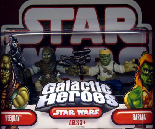 Weequay Barada Galactic Heroes Star Wars action figures