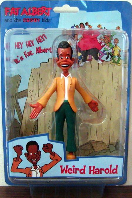 Weird Harold Fat Albert Cosby Kids action figure