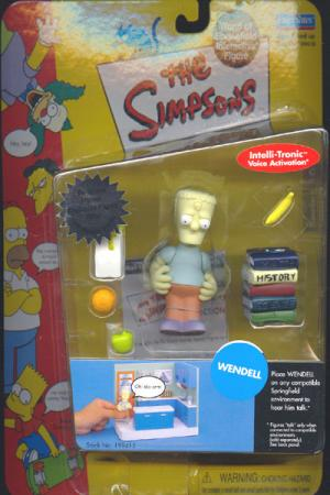 Wendell Simpsons action figure