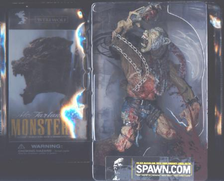 Werewolf Bloody Package Mutated Spawn McFarlanes Monsters action figure