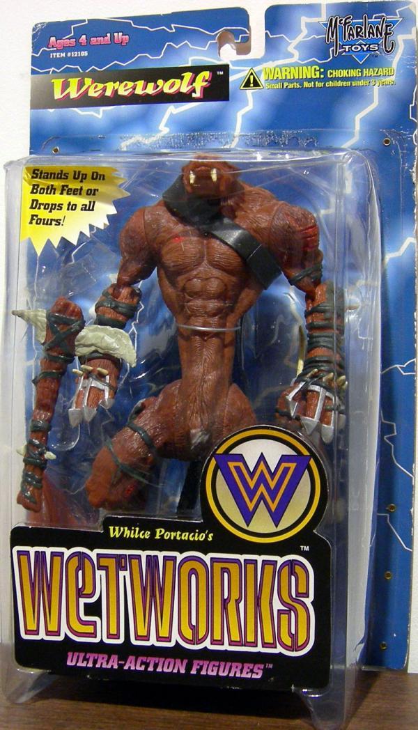 Werewolf Wetworks action figure