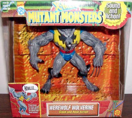 Werewolf Wolverine Mutant Monsters action figure