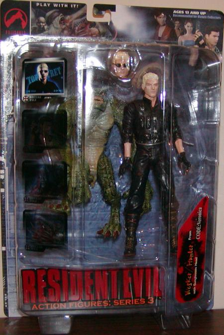 Wesker Hunter Resident Evil Action Figures Series 3 Code Veronica