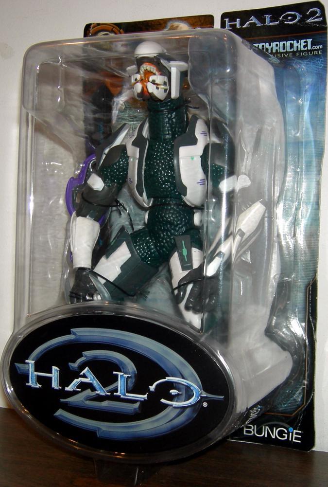 White Multiplayer Elite Halo 2 ToyRocket Exclusive action figure